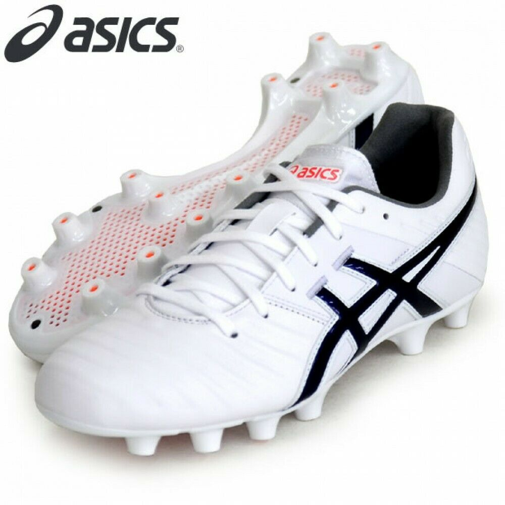 Asics DS Ligero 3 Ancho Fútbol Soccer Zapatos Canguro Cuero Tsi751 blancooo