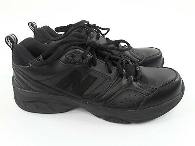 623 Black Leather Sneakers Size 10.5 D