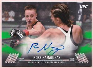 ROSE-NAMAJUNAS-2017-TOPPS-UFC-KNOCKOUT-AUTOGRAPH-12-35-AUTO-SIGNED