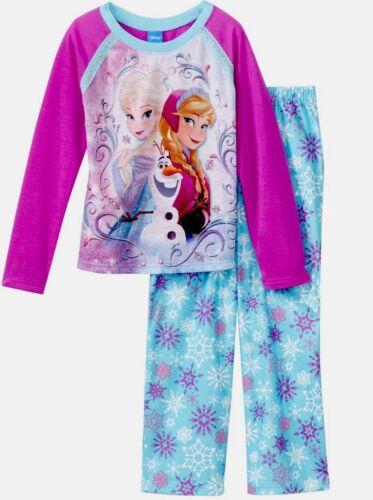 Disney Frozen Toddler Girl Pj Set Long Sleeves Shirt /& Long Pants Size 6//6x