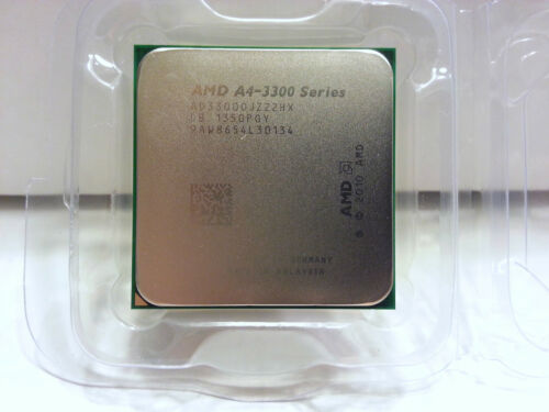 ** NEW AMD  A4-3300 2.5 GHz Dual-Core Socket FM1 Processor