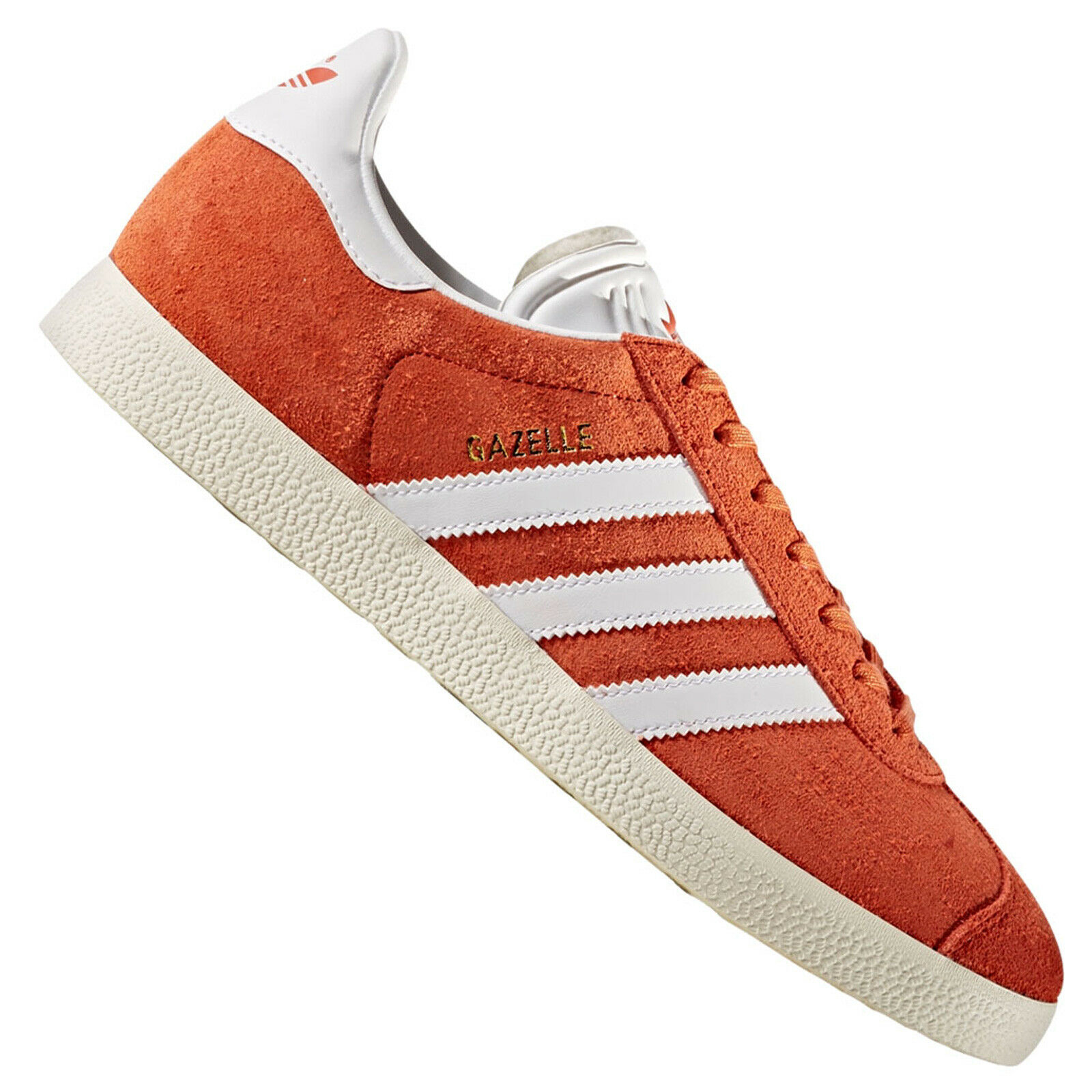 Adidas Originals Gazelle Damen Turnschuhe Turnschuhe Future Harvest Orange Rot