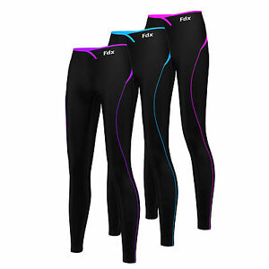 b74399c45c95c Image is loading FDX-Women-Super-Thermal-Base-Layer-Compression-Leggings-