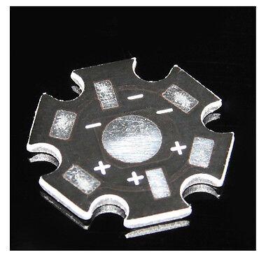 50 pcs 1W 3W 5W High Power LED Universal Aluminum Plate Heat sink LED S8