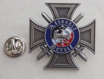 Pour le Merite Orden Militaria Pin Button Badge Anstecker Anstecknadel # 165