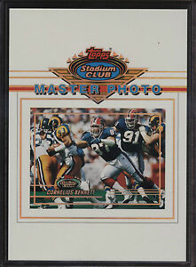 1993-Topps-Stadium-Club-5x7-Master-Photo-Cornelius-Bennett-Buffalo-Bills