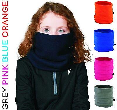 SPECIAL OFFER Youth Kids Childs Boys Girls Winter Fleece NECK WARMER Tube Snood