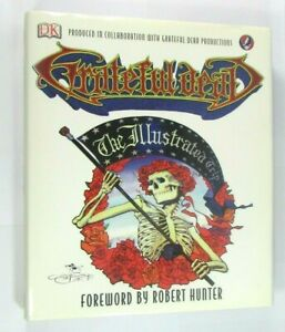 Grateful Dead The Illustrated Trip Hardback 1ST ED Illustrated Coffee Table Size