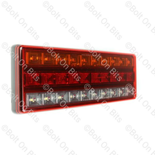 2 LED Autolamps 275mm LED Stop Tail Indicator /& Reverse 12v 24v Recovery truck