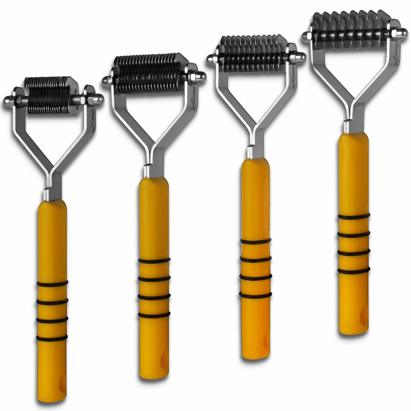 Smart Grooming - Smart Tails Horse Pony Mane Tail Thinners - Yellow Handle