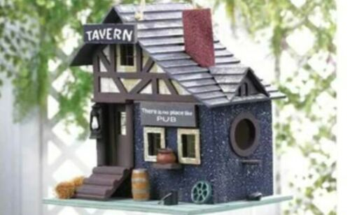ships from USA, attracts birds easily. Details about  /Classic tavern birdhouse