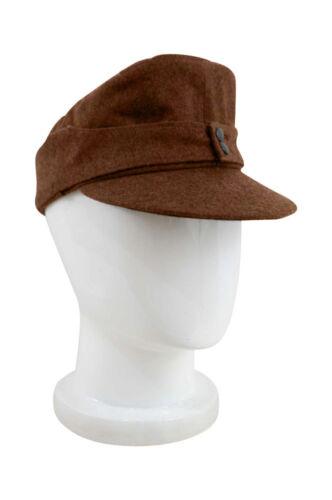 M WWII German Politic EM M43 brown Field Cap size