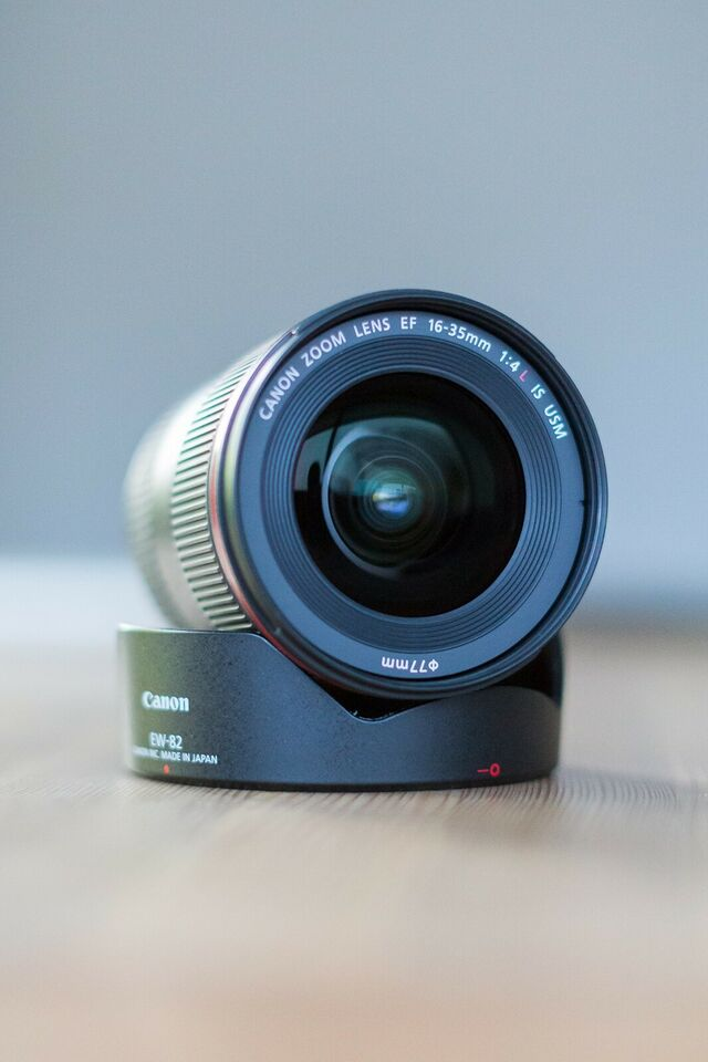 Zoom, Canon, EF 16-35 F4 is usm