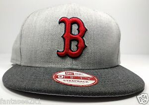 huge selection of 3b0b4 d8a18 Image is loading Boston-Red-Sox-New-Era-9Fifty-Heather-Action-