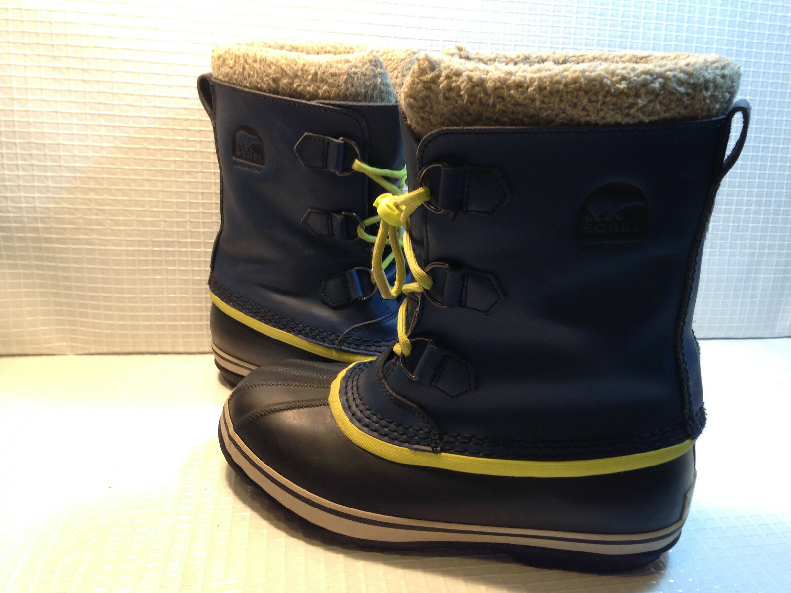 Sorel Y Stiefel NY1443-591 Winter Waterproof Stiefel Y Größe 7 USA. 87219d