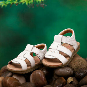 Summer-Hot-Popular-Children-Kids-Soft-Leather-Sandals-Boys-Flats-Beach-Shoes