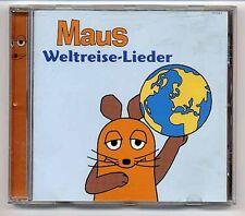 Maus CD Weltreise Lieder - original Lieder aus Die Sendung Mit Der Maus