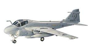 Hasegawa-1-72-US-Navy-A-6E-Intruder-Plastic-Model-C8-Japan