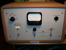 Hewlett Packard Model 416a Ratio Meter For Parts Or Restoration Vacuum Tube