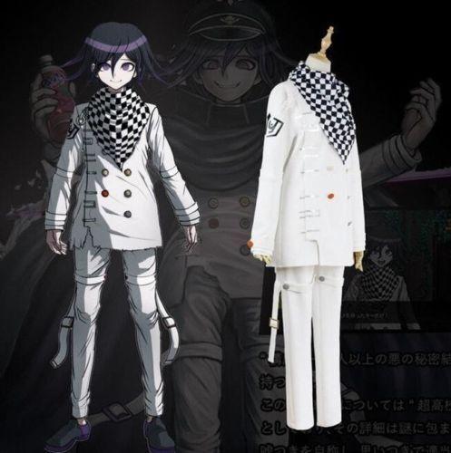 Anime Danganronpa V3 Cos Ouma Kokichi Cosplay School Uniform costume Full Set