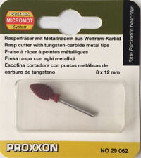 Proxxon TCT conica raspa 8 mm x 12mm per LWS 29062 / Direttamente da RDG Tools