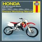Haynes Honda CR Motocross Bikes Owners Workshop Manual von John H. Haynes (2011, Taschenbuch)