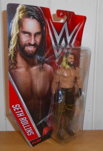 WWE-seth rollins-Mattel basics-série 60-wrestling figure