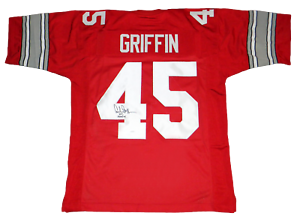 Archie Griffin Ohio State Buckeyes Football Jersey - White