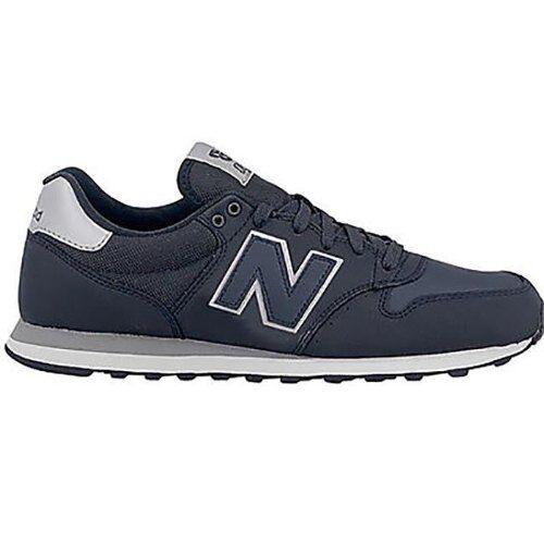 Herrenschuhe New Balance GM500SN blau Turnschuhe Sport Casual Schuhe Leder neu