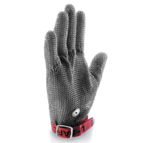 Stechschutzhandschuhe Kettenhandschuh Sicherheits-Handschuh Einzeln 9 large Schn