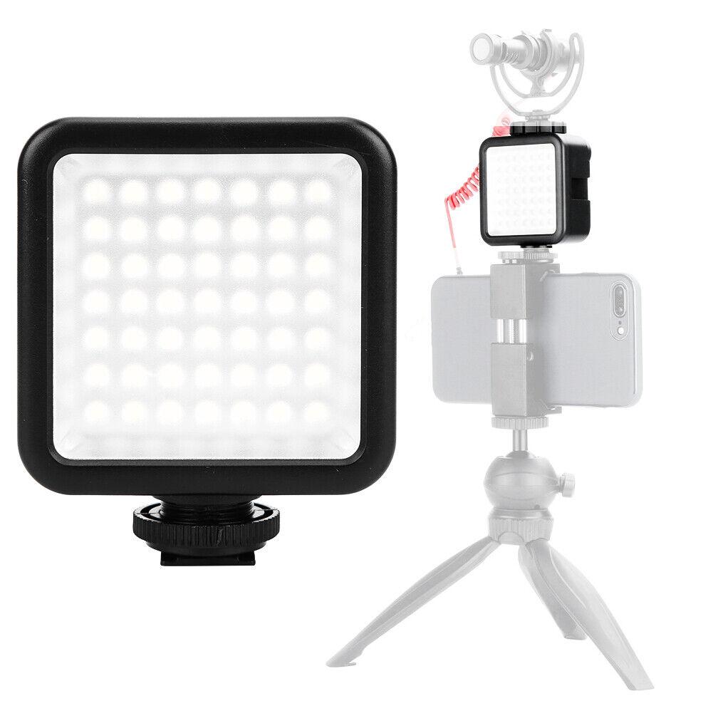 Ulanzi W49 Mini Camera LED Video Light For DJI Osmo Pocket Nikon Sony A6400 GD