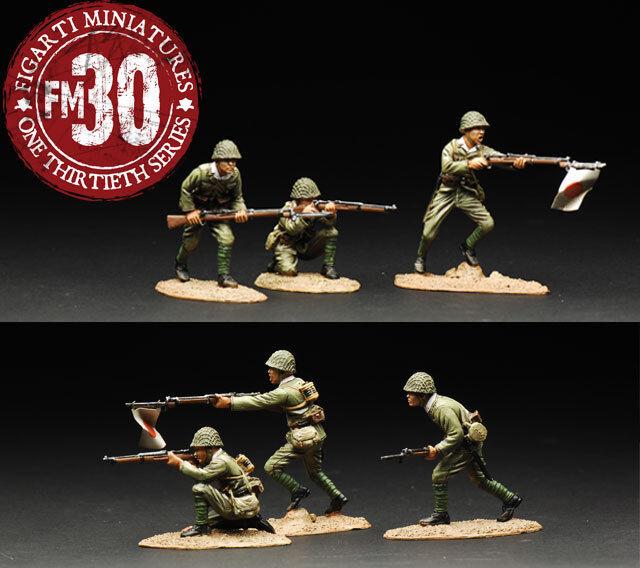 Figarti Miniatures WW2 Japanisch Wake Island WIJ-006 die Yankee MIB