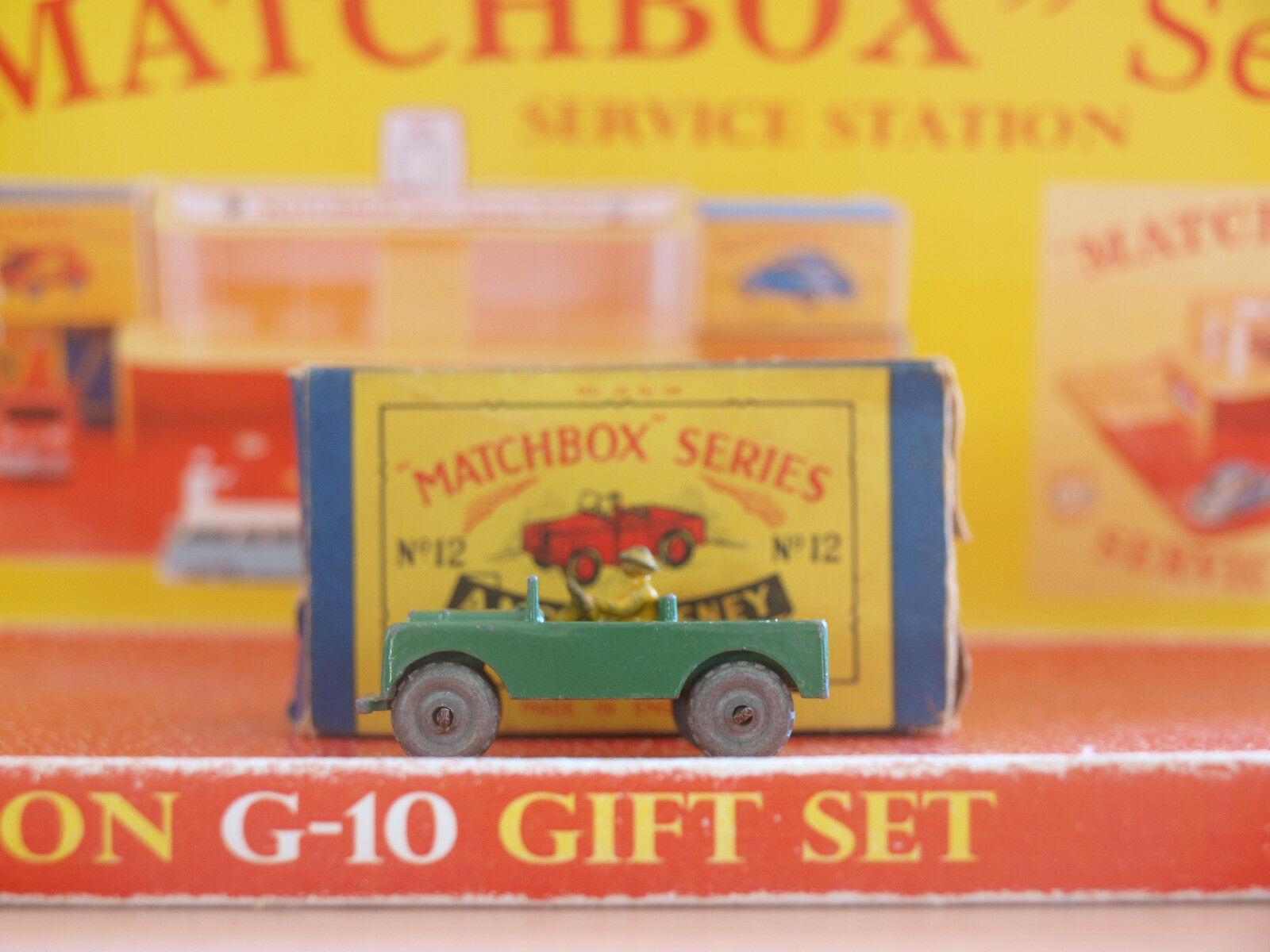 Vintage Matchbox by Lesney LANDROVER No.12a