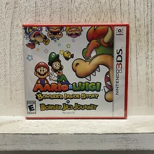 Mario & Luigi: Bowser's Inside Story + Bowser Jr.'s Journey (3DS, 2019) Sealed