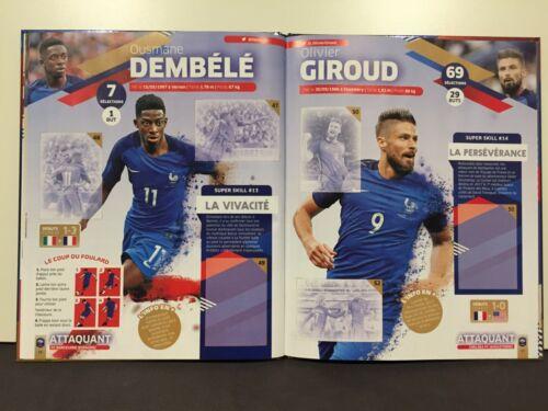 Album Panini Carrefour Fiers d être Bleus Complet Équipe De France World Cup