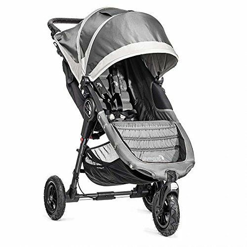 Free Shipping! Baby Jogger City Mini GT Stroller Steel Grey Brand New