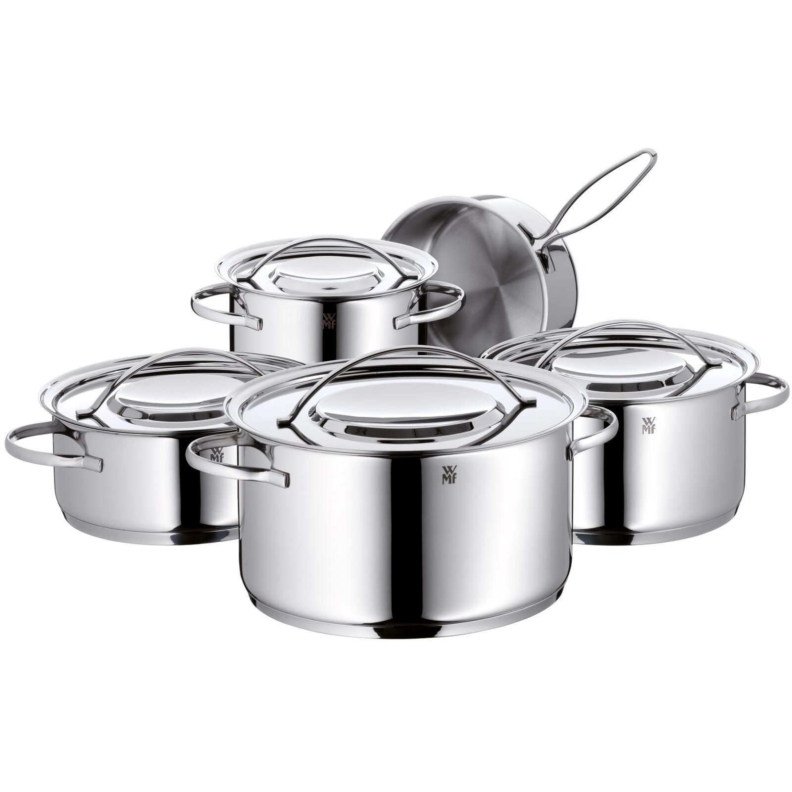 WMF olla-set gala plus 5 piezas de acero inoxidable inoxidable NUEVO