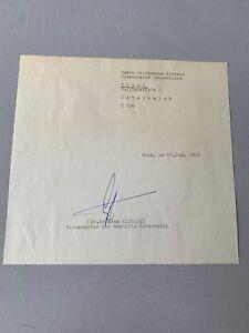 HERMANN WITHALM († 2003) Vize-Kanzler Österreich signed Konvolut von 1968 - Berlin, Deutschland - HERMANN WITHALM († 2003) Vize-Kanzler Österreich signed Konvolut von 1968 - Berlin, Deutschland