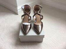 CARVELA BY Kurt Geiger Kg Brand New Gun Metal  Shoes Rrp £110 Size 39 Uk 6
