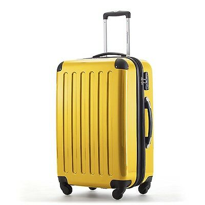 Hauptstadtkoffer - Alex 74 Liter / 65cm Hartschalen Trolley in gelb