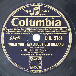 78-record-in-frame-WHEN-YOU-TALK-ABOUT-OLD-IRELAND-IF-I-CAN-HELP-SOMEBODY