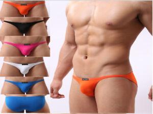 5-Pack-Brave-Person-NEW-Men-039-s-Mini-Briefs-Bikini-Beachwear-Underwear-SIZE-S-L