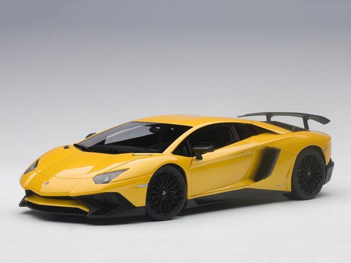 ahorra hasta un 50% Lamborghini AVENTADOR SV LP750-4 Amarillo 1:18 1:18 1:18 Autoart 74558 compuesto Nuevo En Caja  online al mejor precio