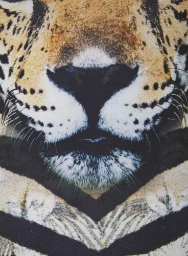 PINK TIGER LEOPARD ANIMAL PRINT BODY BODYSUIT LEOTARD TOP 6 12 14 XS S M L BNWT