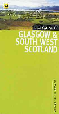50 Walks in Glasgow and South West Scotland, Automobile Association, Very Good B