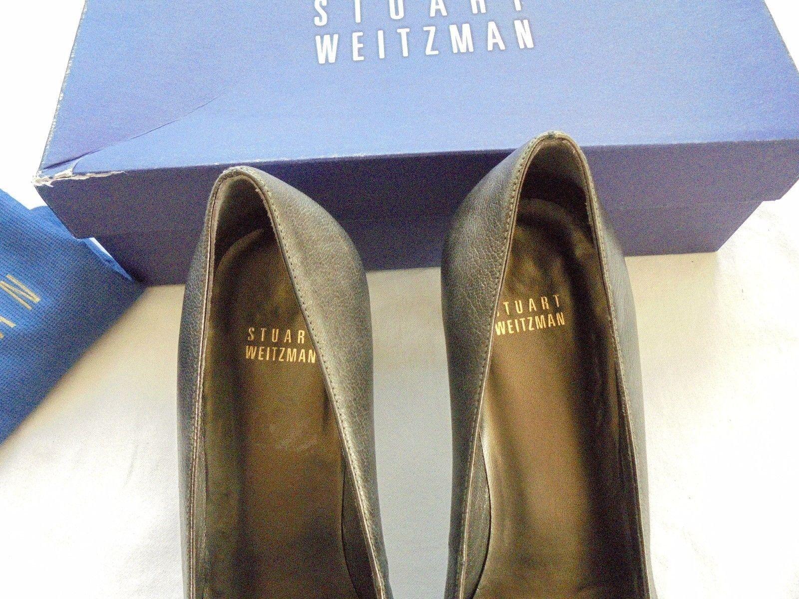 STUART  WEITZMAN Leder Pumps NP:  STUART w NEU High Heels Schuhe Gr. 39 0f3a3d