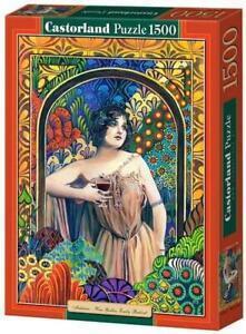 "Castorland Puzzle 1500 Pieces - WINE GODDESS - 27""x18.5"" Sealed box C-150847"