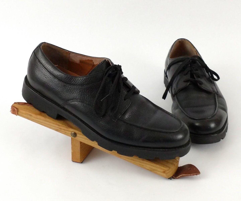 Mens Polo Ralph Lauren shoes Oxfords 11 Casual Dress Black Heavy Lace Up