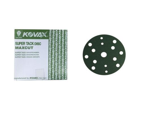 50x KOVAX MaxCut p60 Meules à excentrique Disques 152 mm 15 trous