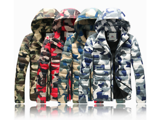Men-Winter-Warm-Casual-Thick-Hooded-Jacket-Fit-Overcoat-Outwear-Coat-Camouflage